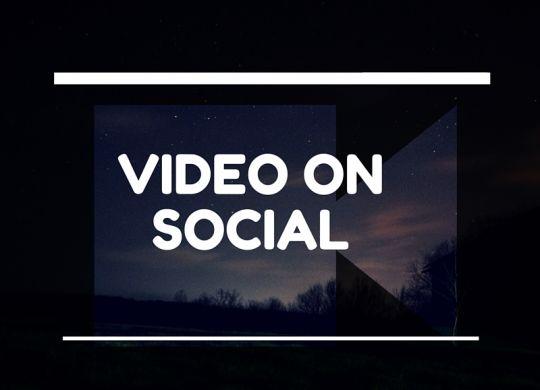 video on social